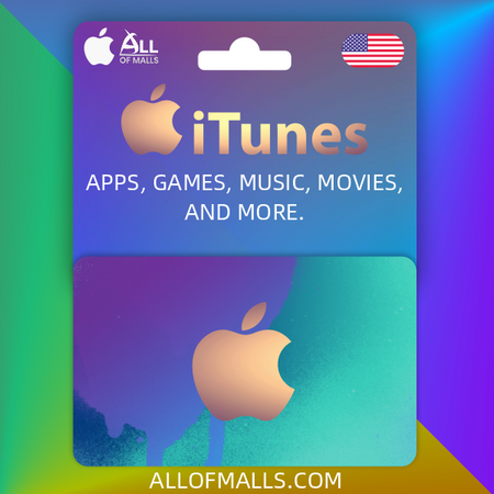 iTunes Gift Card US - All Of Malls