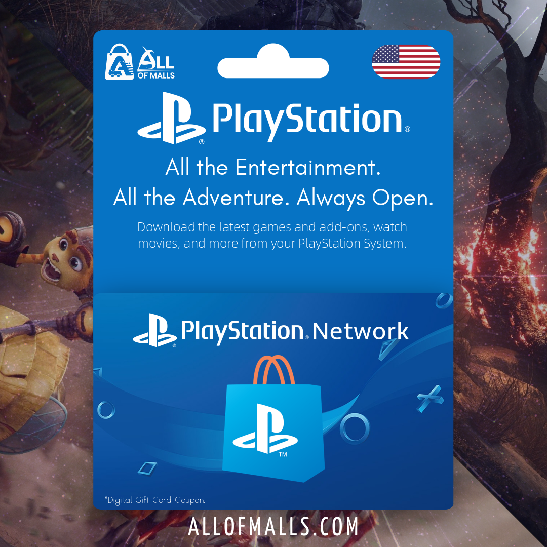 PlayStation Network Card US - All Of Malls
