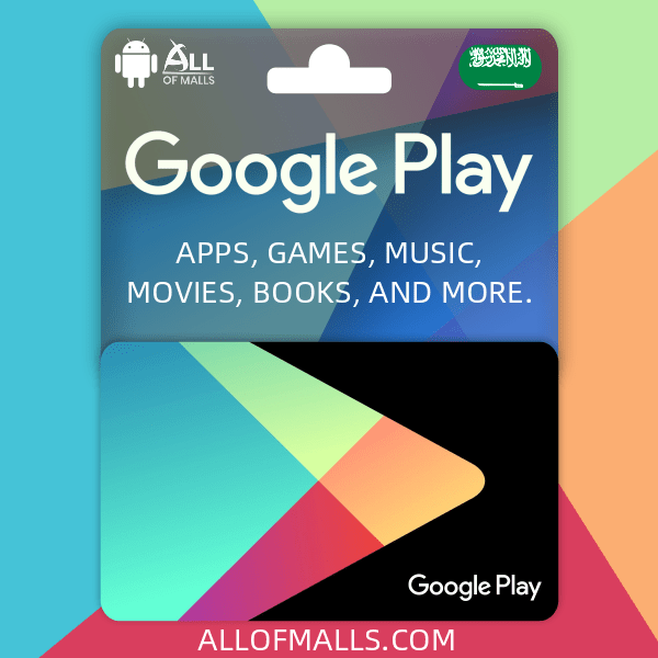 Google Play Gift Card (SA)